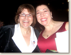 Elizabeth Davis, founder of EAD & Associates, at the Disability Power and Pride Inaugural Ball in Washington, DC with Marcie Roth, Senior Advisor on Disability Issues at FEMA
